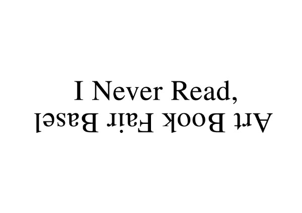 I Never Read